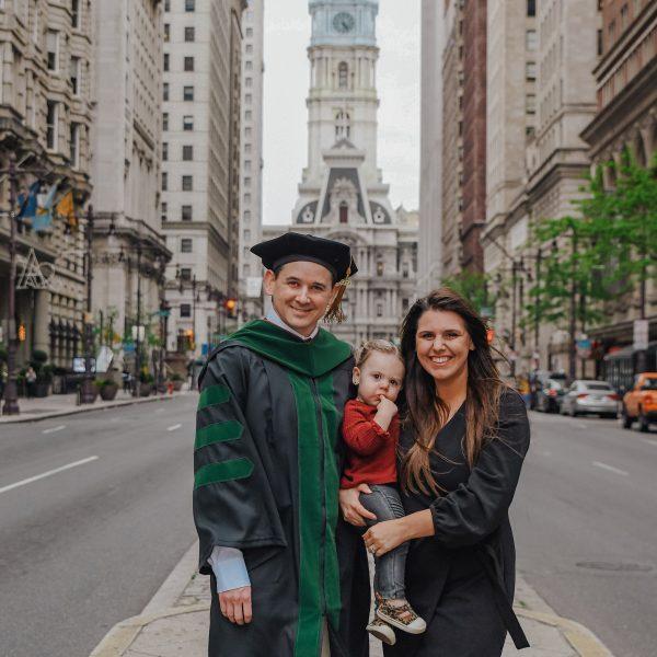 Graduation Day: Congrats Dr. Conor!